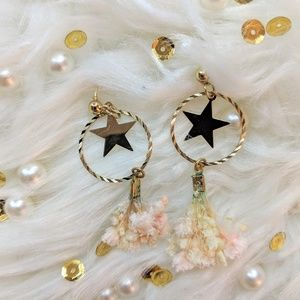 CUTE Flower with Stars Earring❤️NEW ❤️ BOUTIQUE ❤️